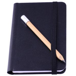 Notes A7 czarny
