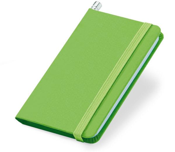 Notes A7 zielony