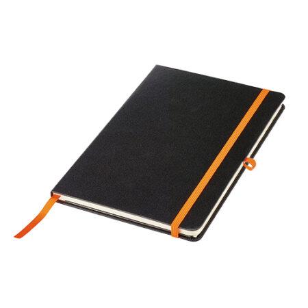 Notes formatu A5 z zakładką i kieszenią