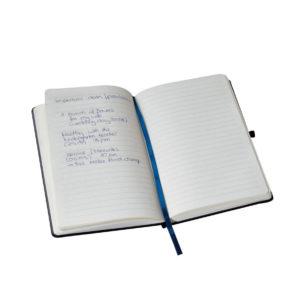 Notes A5 czarny w linie