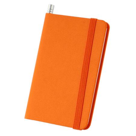 Notesik A7 pomarańczowy