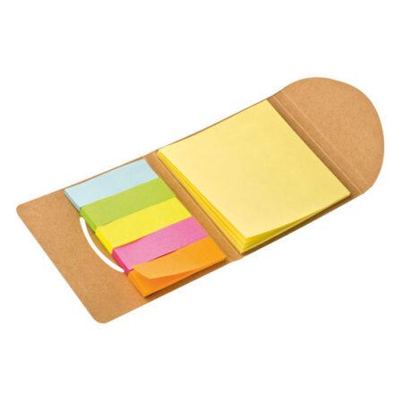 Karteczki indeksujące w eko pudełku