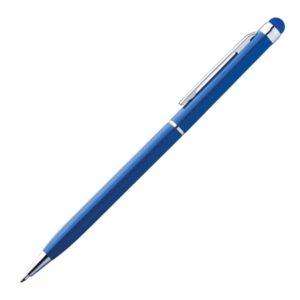 Metalowy długopis z touch penem NEW ORLEANS - niebieski