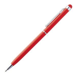 Metalowy długopis z touch penem NEW ORLEANS – czerwony