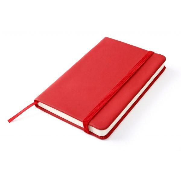 Notes A6 czerwony