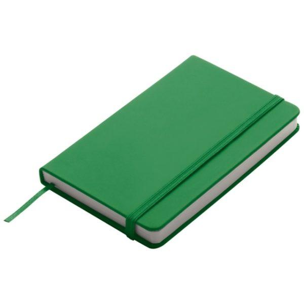 Notes A6 zielony