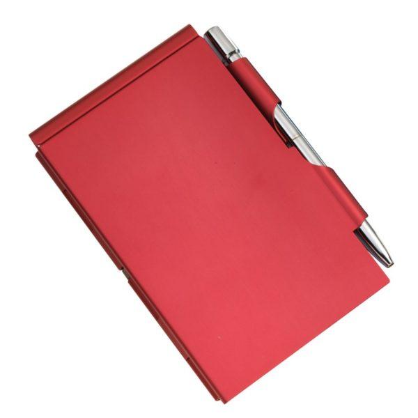 Notes w metalowym etui