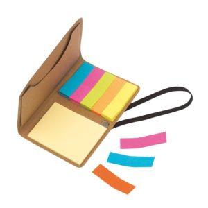 Mini ekonotesik z karteczkami samoprzylepnymi