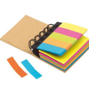 Karteczki samoprzylepne indeksujące minisegregator