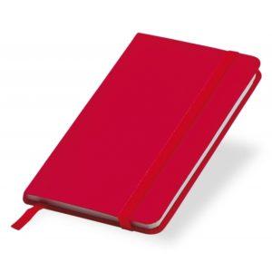 Notesik A6 - czerwony