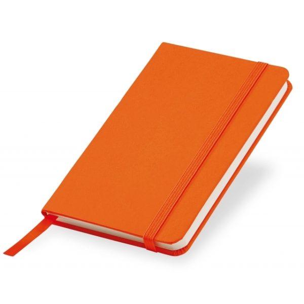 Notesik A6 pomarańczowy