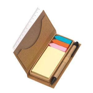 Eko pudełko z karteczkami