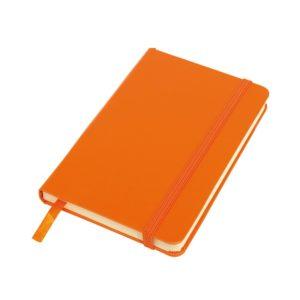 Notes A6 w linie pomarańczowy