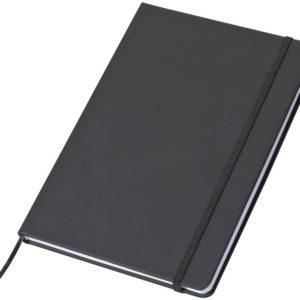 Notes A5 w linie - czarny